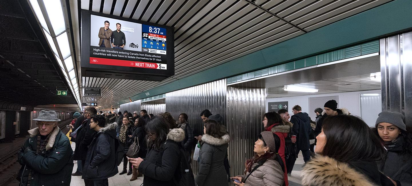 DOOH in Subway: Specs, Audiences and Inspiration