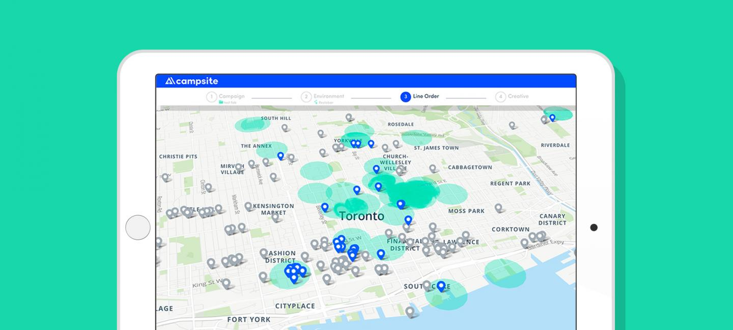 New Tools for Easy Geo-Targeting of Digital Out-of-Home Screens
