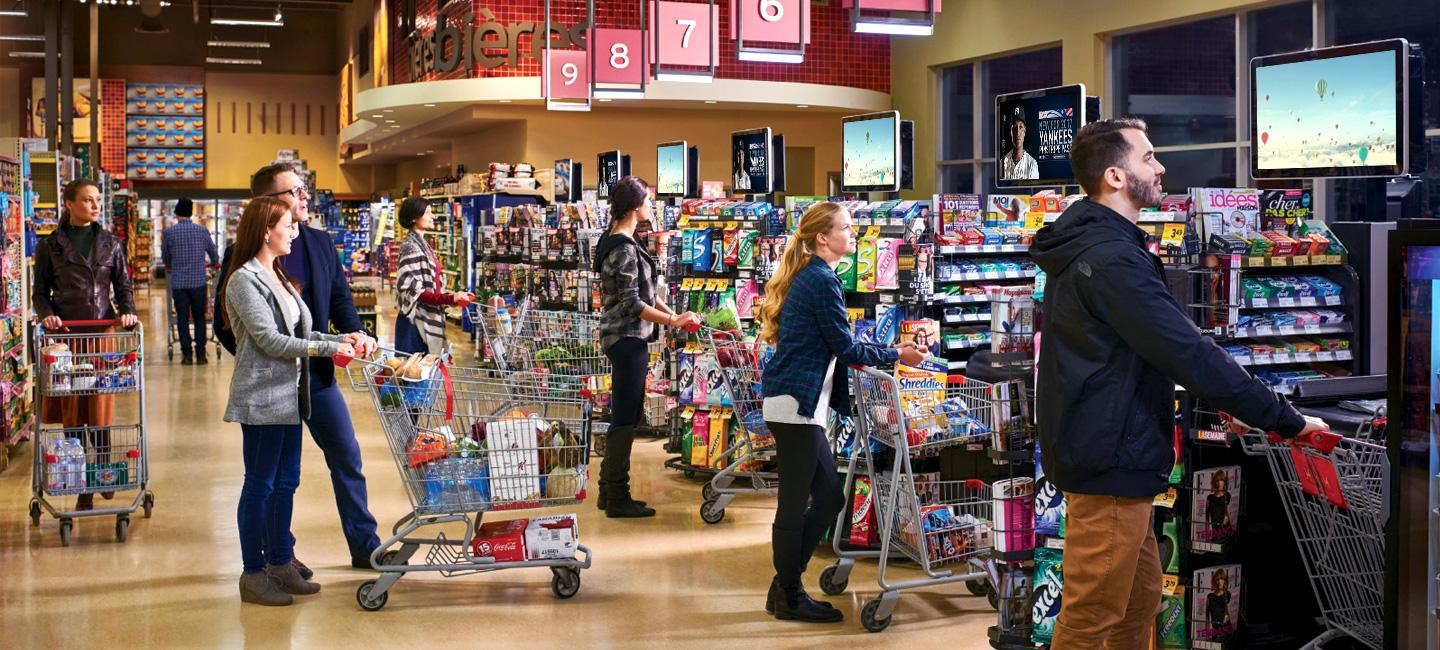 DOOH in Groceries: Specs, Audiences and Inspiration