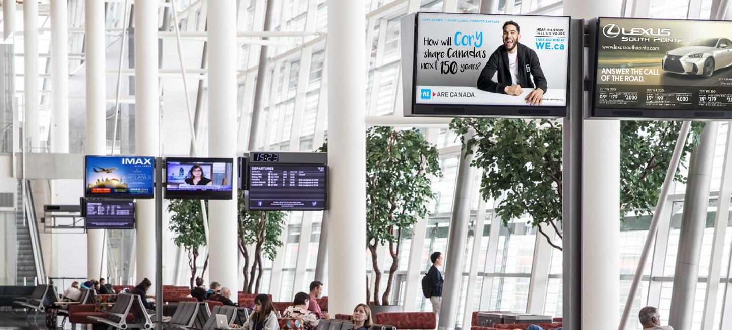 DOOH in Airport: Specs, Audiences and Inspiration